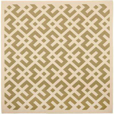 Green - Square - Square 1\'-6\' - Outdoor Rugs - Rugs - The Home Depot