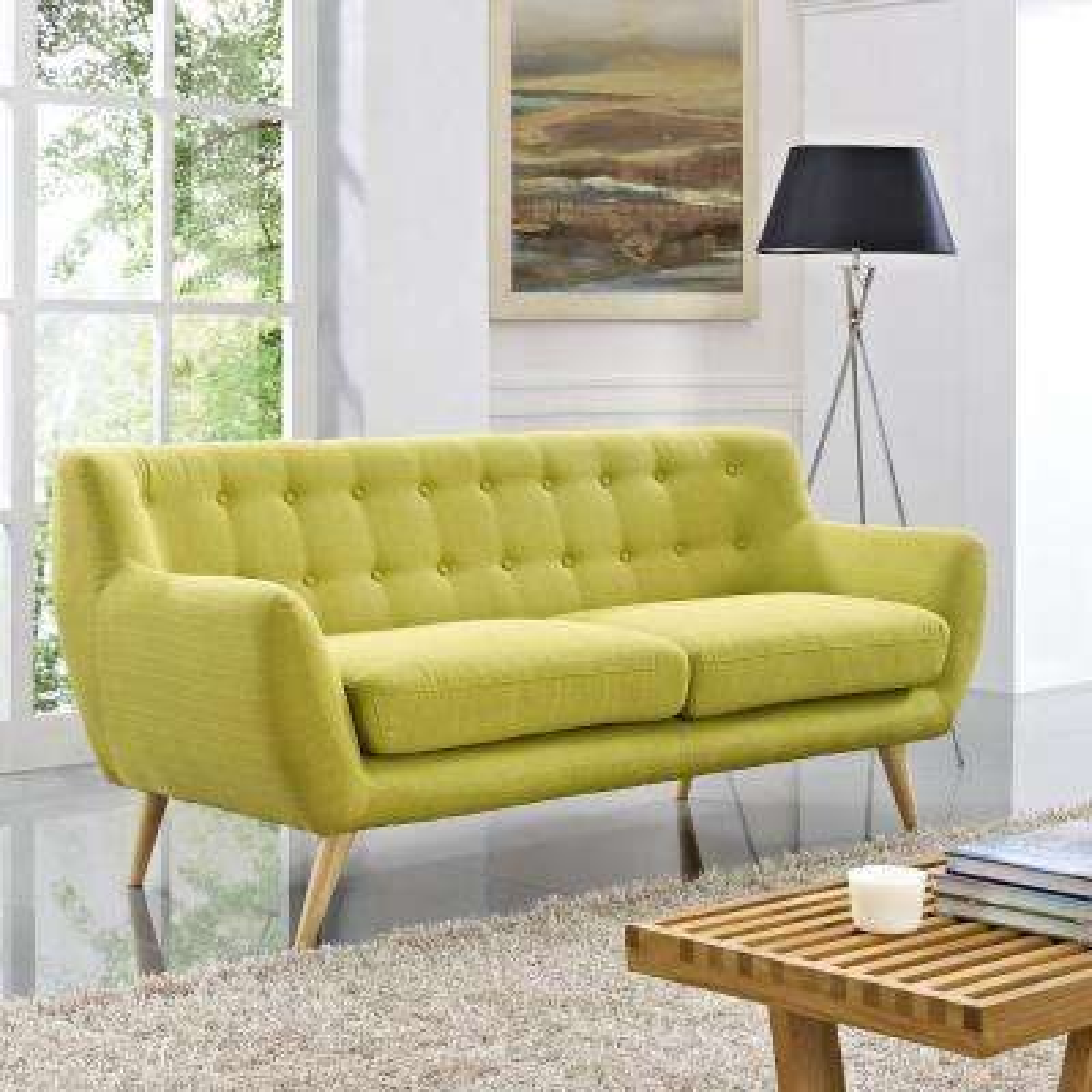 Remark Wheatgrass Upholstered Fabric Sofa