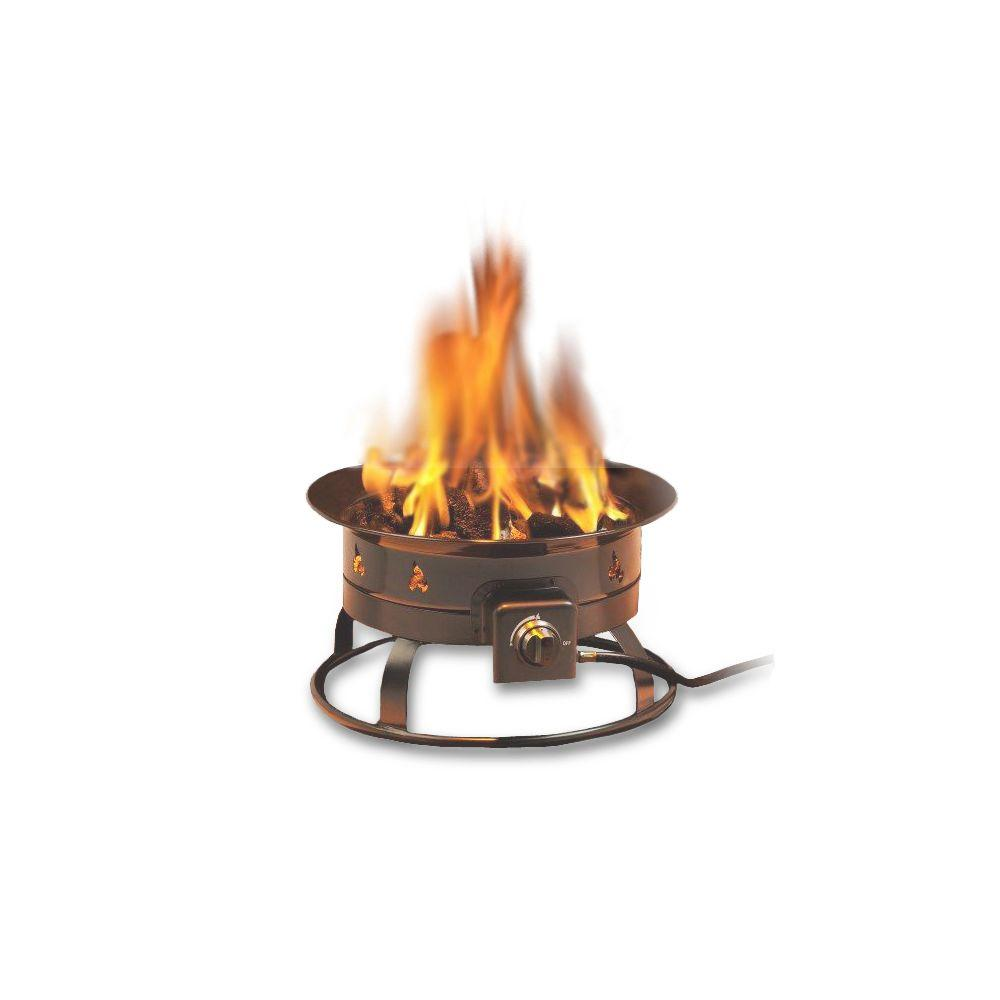 Portable Propane Gas Fire Pit-5995 - The Home Depot