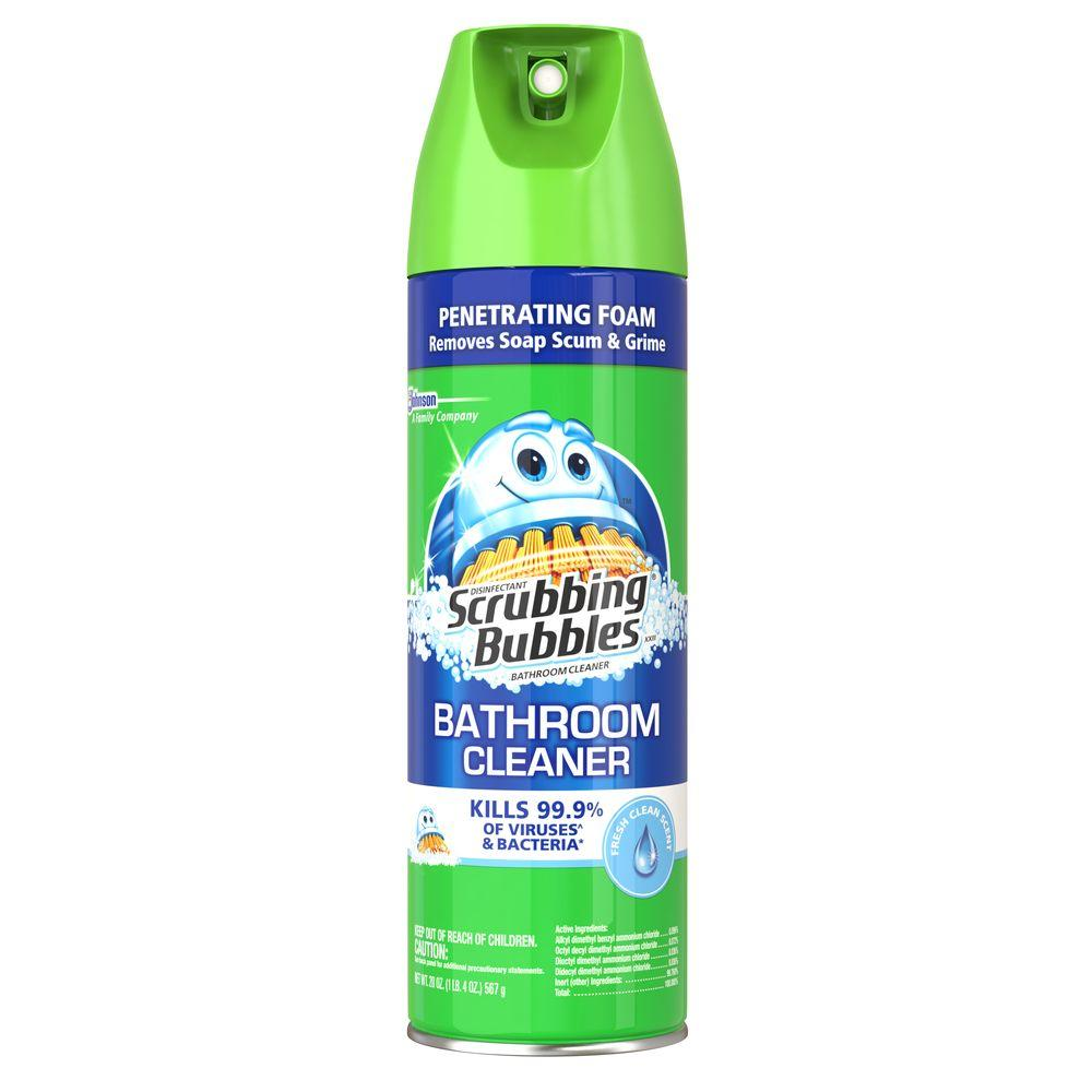 Fresh Scent Disinfectant Bathroom Cleaner