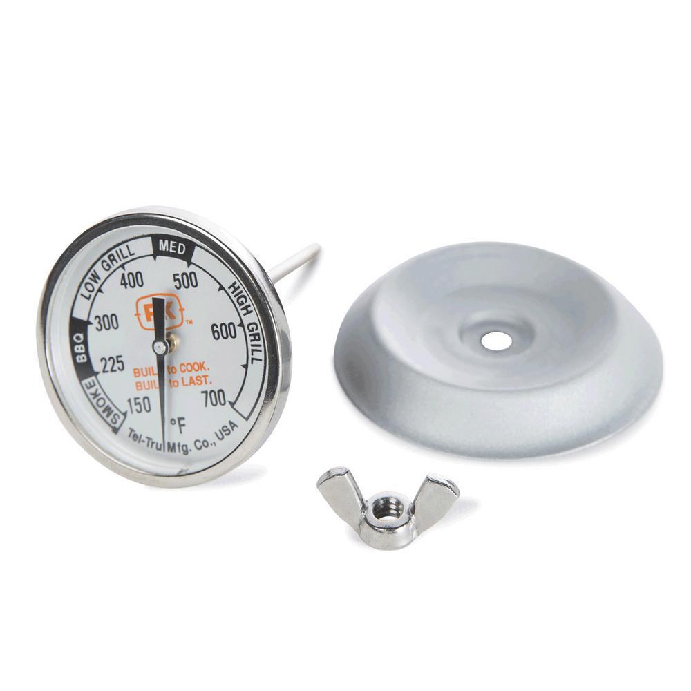 PK Grills BBQ Thermometer by Tel-Tru