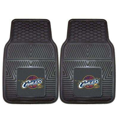 Cleveland Cavaliers 18 in. x 27 in. 2-Piece Heavy Duty Vinyl Car Mat