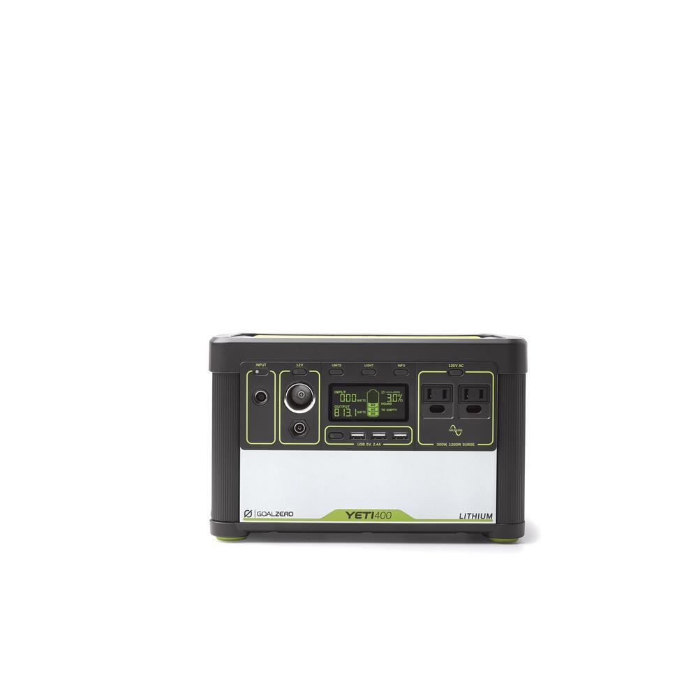 Goal Zero Yeti 400-Watt Lithium Battery Powered Portable Generator