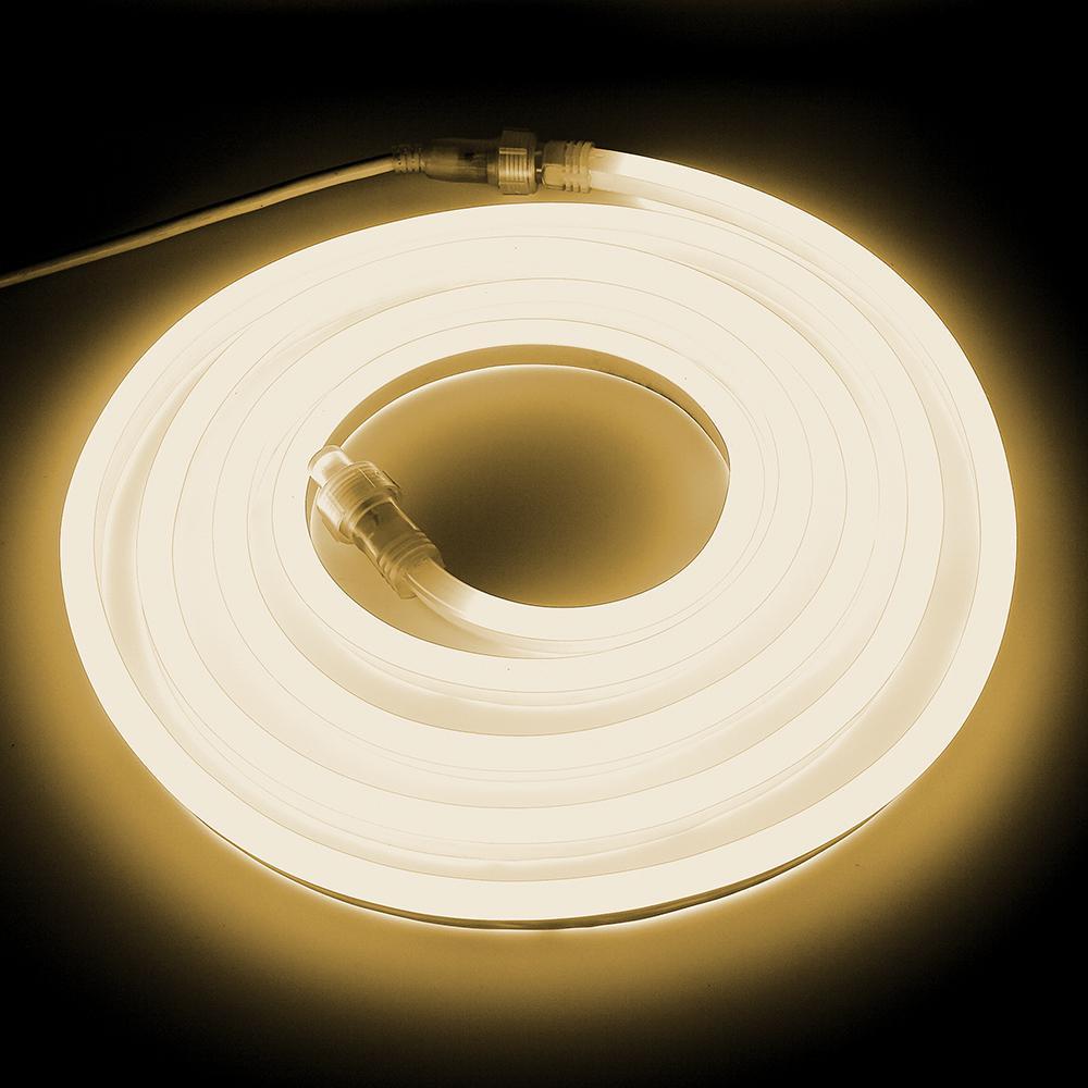 Neon Led Warm White Rope Light Kit