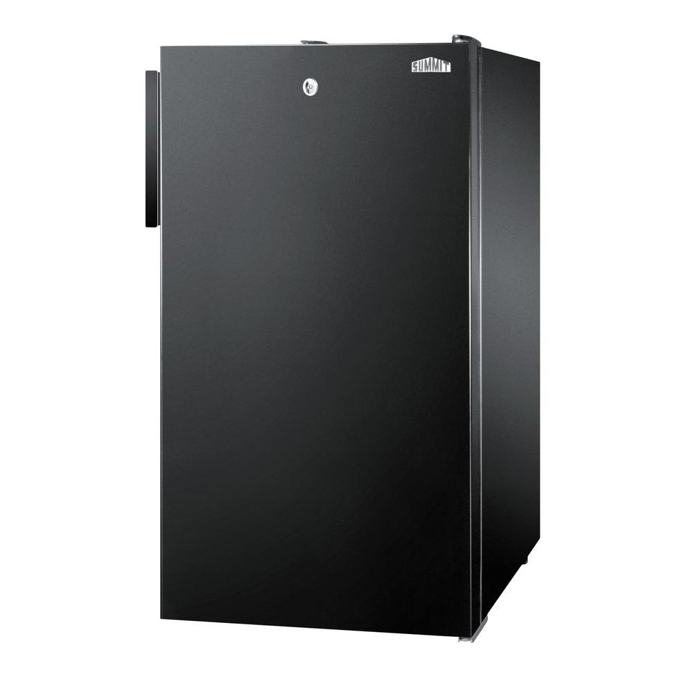 Summit Appliance 4.1 cu. ft. Mini Refrigerator in Black with Lock