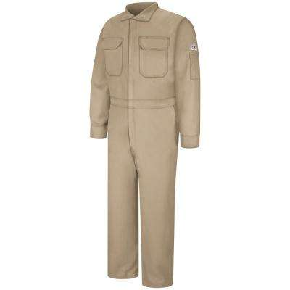Nomex IIIA Men's Size 50 (Tall) Tan Premium Coverall