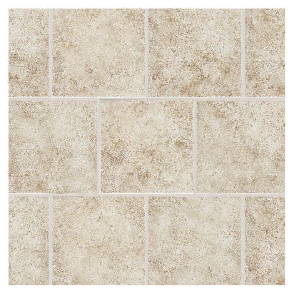 Daltile Forest Hills Crema 12 in. x 12 in. Porcelain Floor and Wall Tile (570 sq. ft. / pallet)
