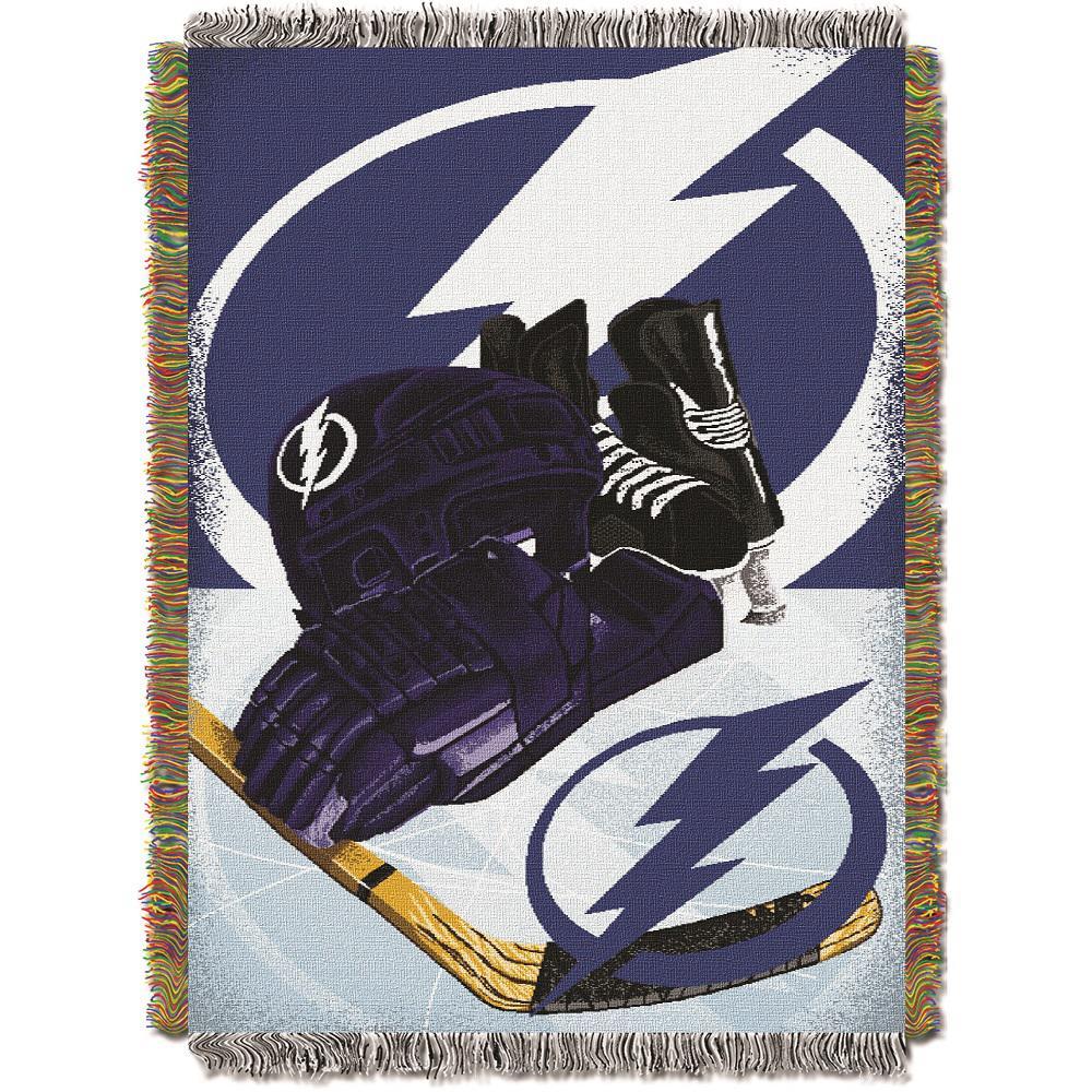 Tampa Bay Lightning Polyester Throw Blanket