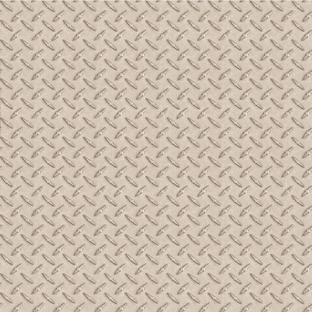 Chesapeake Kipling Silver Diamond Plate Wallpaper  sc 1 st  The Home Depot : diamond plate wall paper - pezcame.com