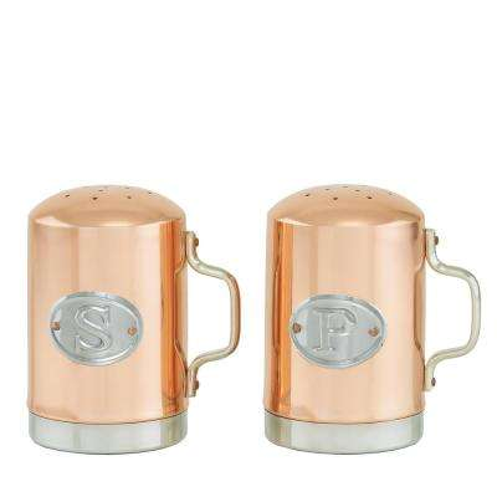 Decor Copper Salt & Pepper Shakers