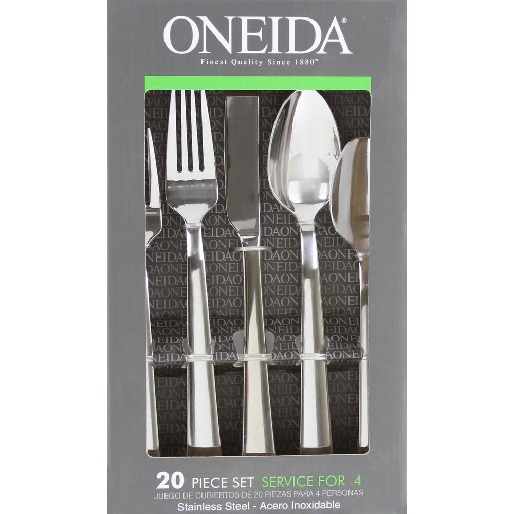 Robinson Home Products Oneida Madison 20-Piece Flatware Set-H019020B ...
