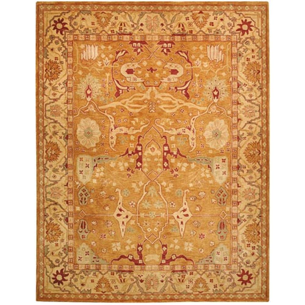 Pasargad Khotan Persian Wool Area Rug 8 X10: Safavieh Anatolia Straw/Ivory 8 Ft. X 10 Ft. Area Rug