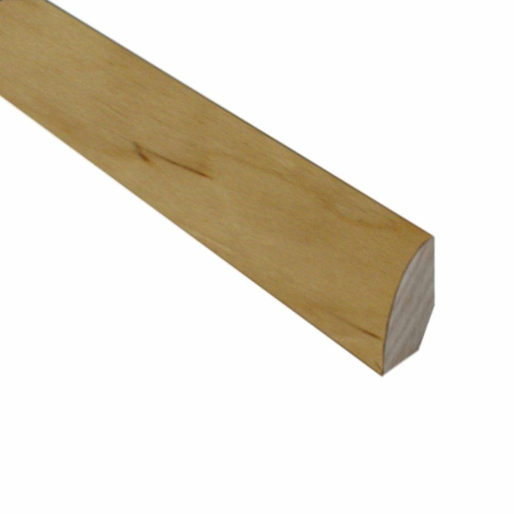 null Maple/Birch Natural 3/4 in. Thick x 3/4 in. Wide x 78 in. Length Hardwood Quarter Round Molding