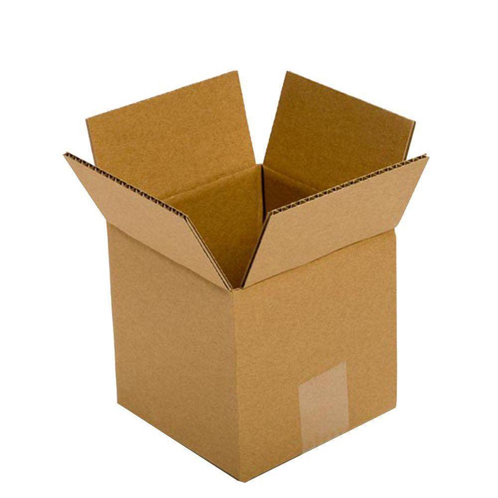 Pratt Retail Specialties 5 in. L x 5 in. W x 5 in. D Box (25-Pack)
