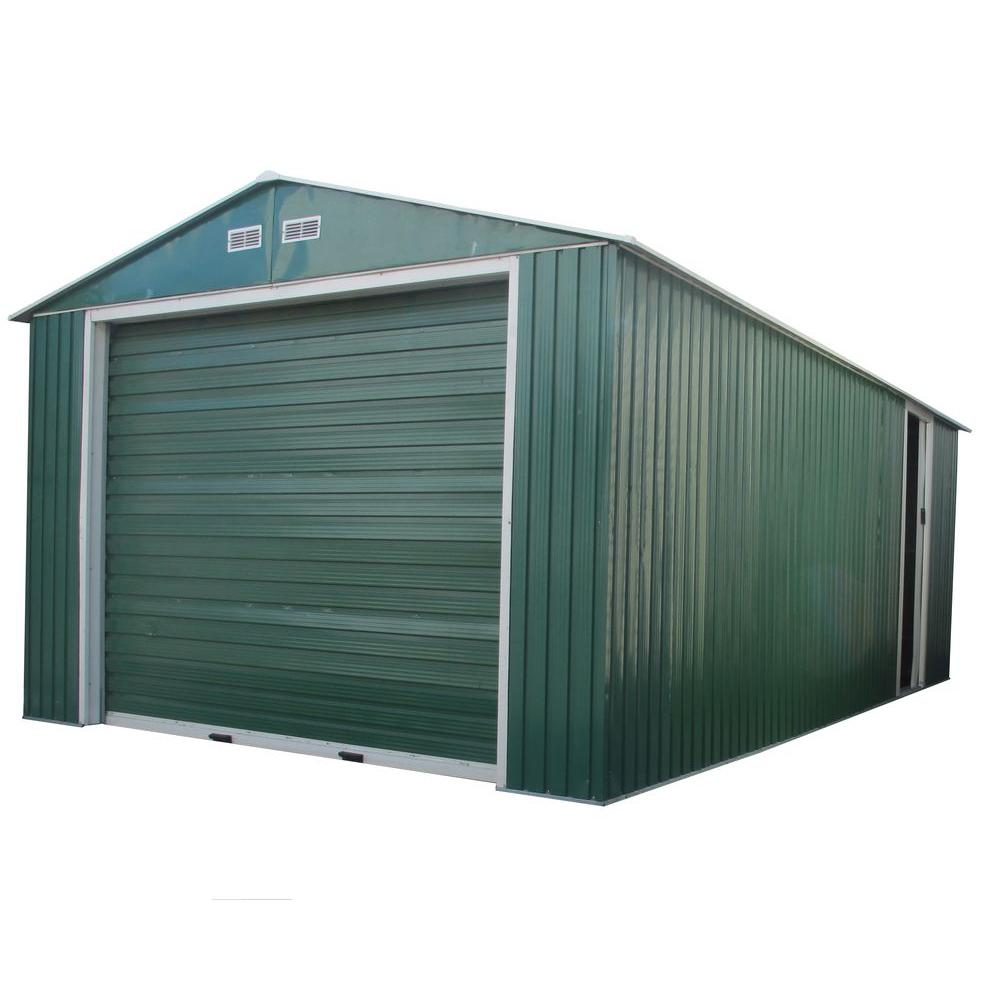 Duramax Building Products Imperial 12 ft. x 20 ft. x 6.9 ft. Green ...