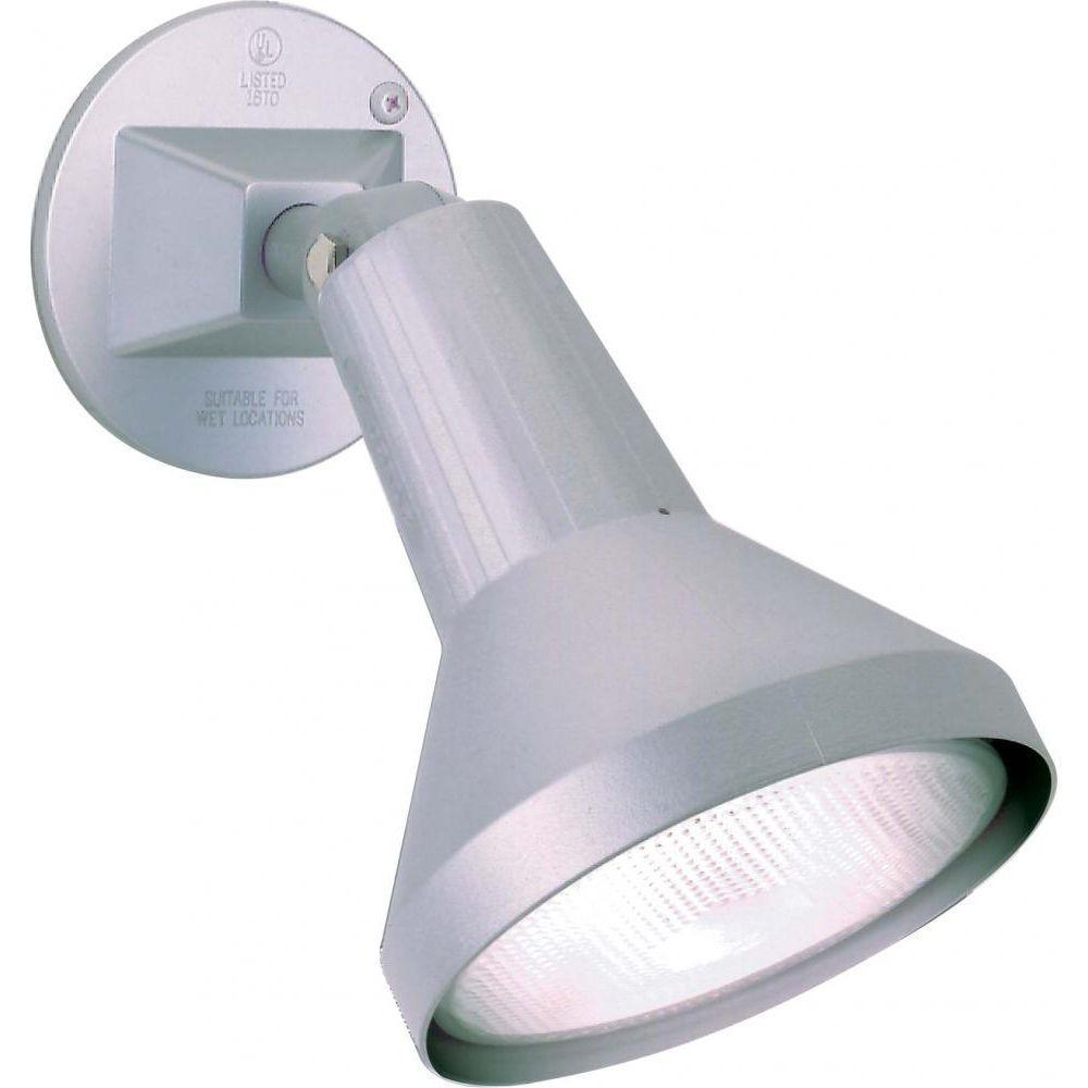 Tony 1-Light Gray Flood Light