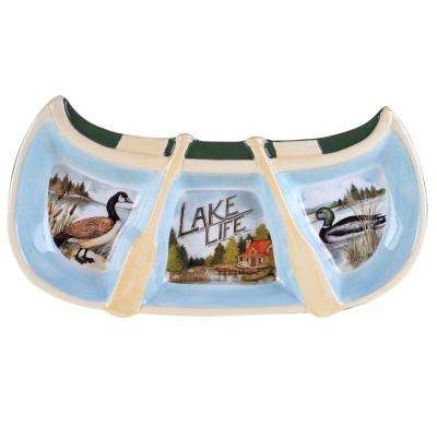 The Lake Life Collection 3-Section Relish Tray