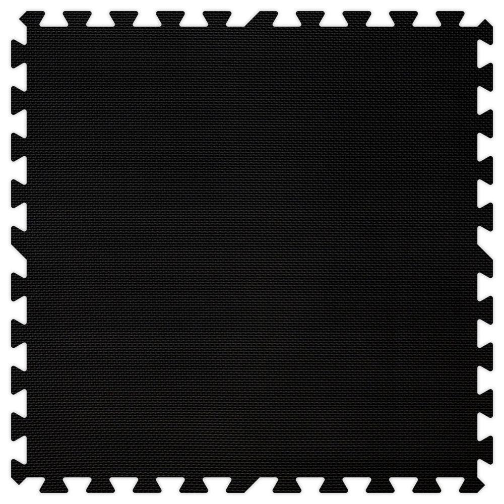 Groovy Mats Black Comfortable Mats - Small Sample Piece