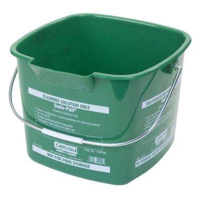 8 Qt. Green Suds-Pail for Cleaning Solutions (12-Case)
