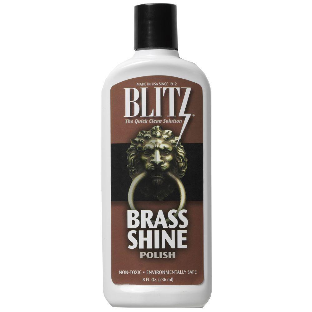 Blitz 8 oz. Brass Shine Polishing Liquid