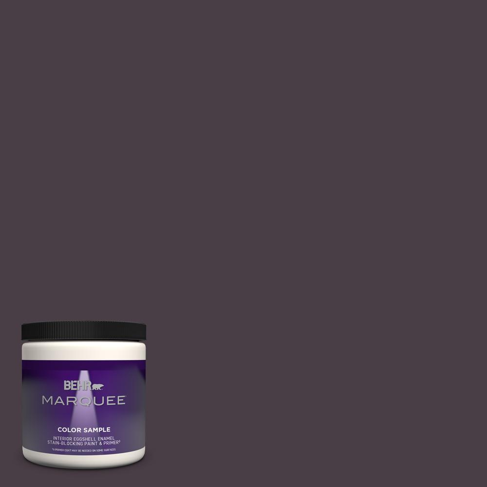 Behr Marquee 8 Oz Ppu17 20 Eclectic Purple Eggshell Enamel Interior Paint And Primer In One Sample Mq31316 The Home Depot