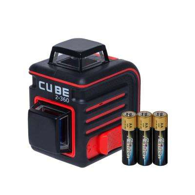 Cube 2-360 Cross Line Laser Level Basic Edition