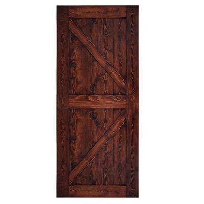 Barn Door Slab Brown Barn Doors Interior Closet Doors The