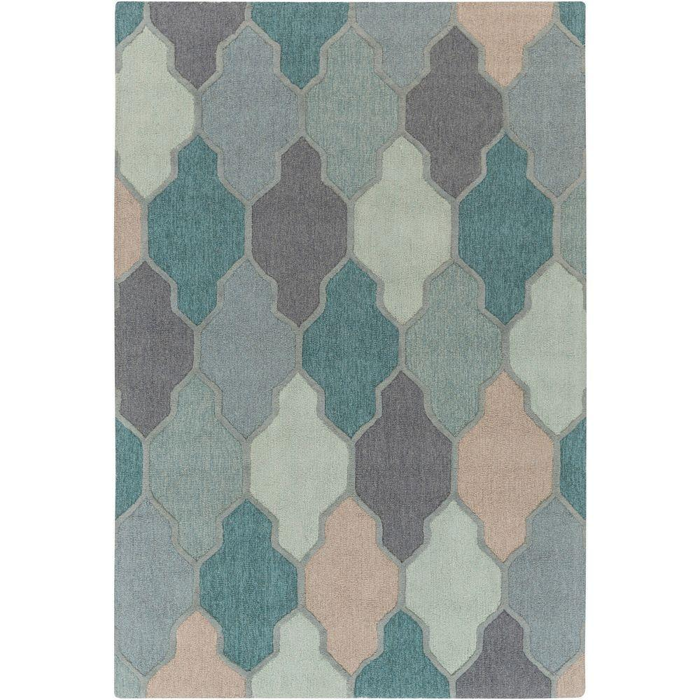 This Review Is From Pollack Morgan Teal 8 Ft X 11 Indoor Area Rug