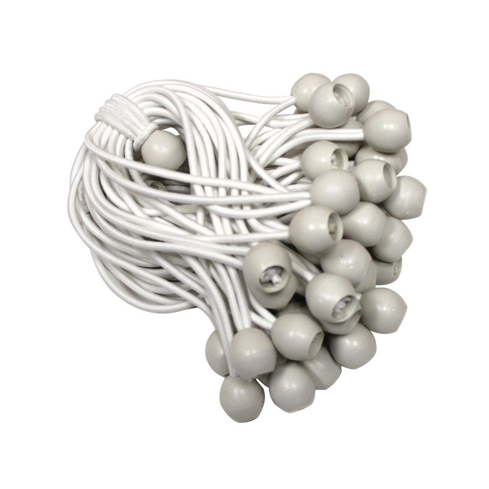 King Canopy Ball Snuggers White (50-Pack)