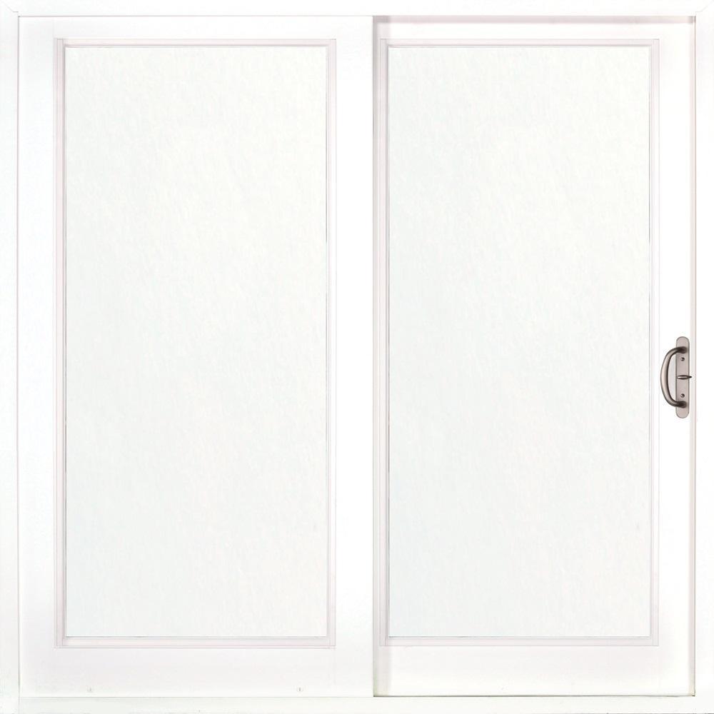 Mp doors 72 in x 80 in woodgrain interior and smooth for 72 x 80 exterior door