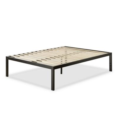 Lorrick Black Metal Queen Platform Bed Frame