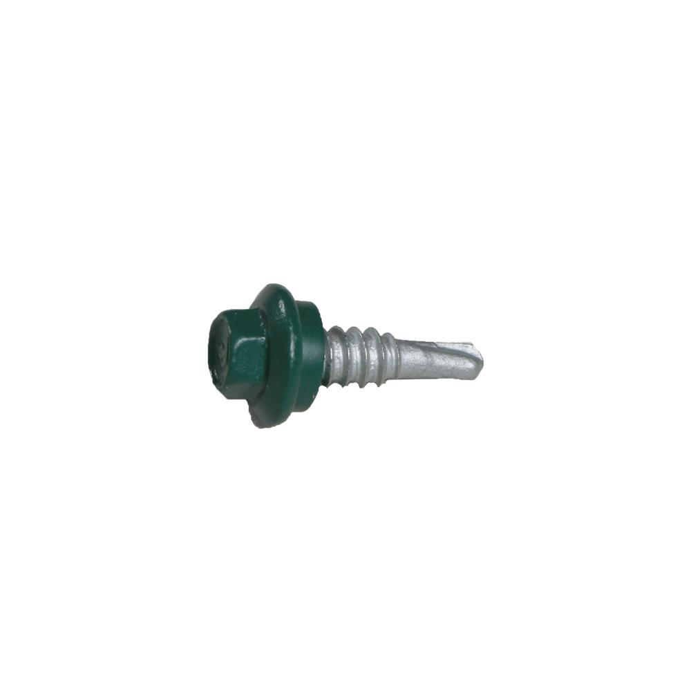Metal Sales Ms 7 8 In 14 Forest Green Stitch Screw