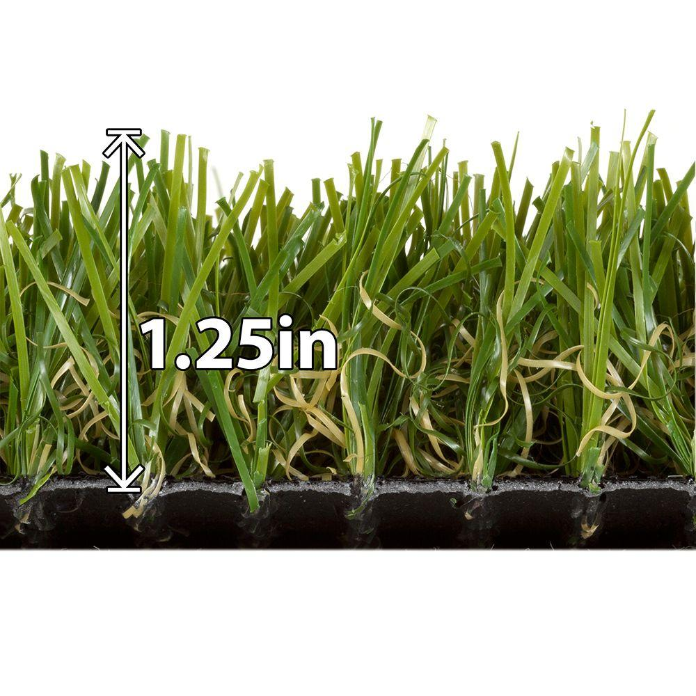 Natco Tundra Green 6 ft. x 8 ft. Grass Rug - DISCONTINUED