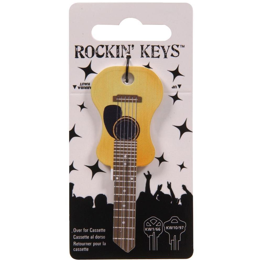 #66 Blank Rockin' Accoustic Guitar Key