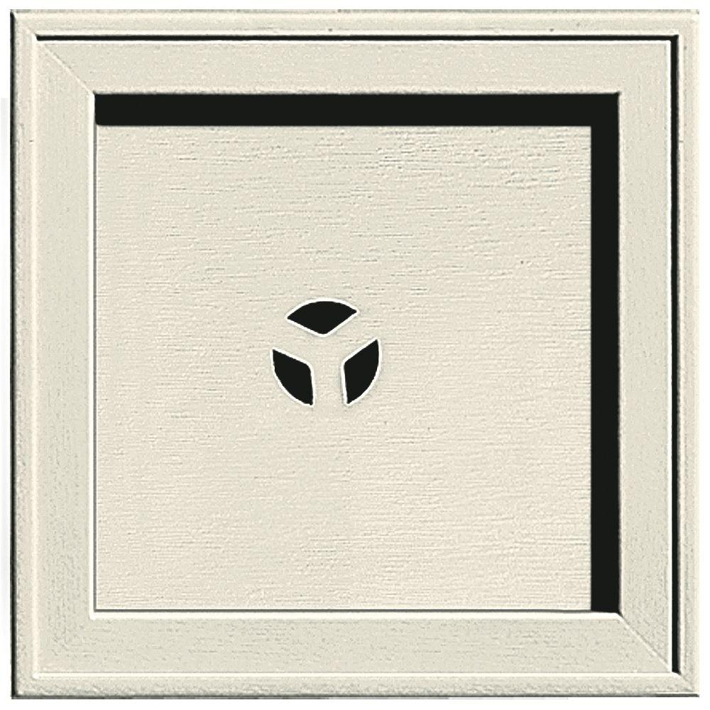 7.75 in. x 7.75 in. #082 Linen Recessed Square Mounting Block
