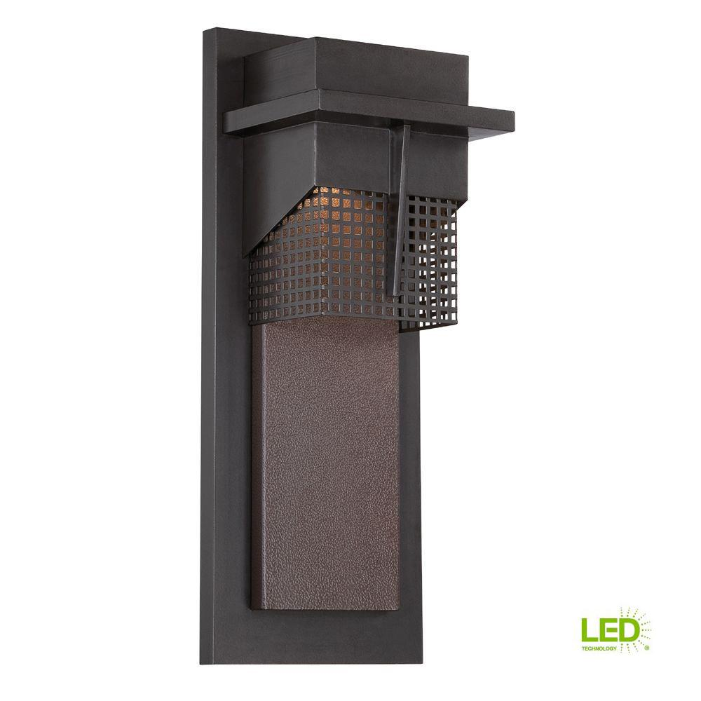 Beacon Burnished Bronze Outdoor LED Wall Lantern