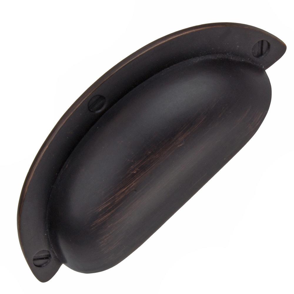 2-1/2 in. Oil Rubbed Bronze Bin Cabinet Pull (10-Pack)