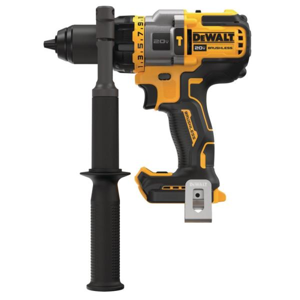 20-Volt MAX Lithium Ion Cordless Brushless 1/2 in. Hammer Drill/Driver with FLEXVOLT ADVANTAGE (Tool Only)