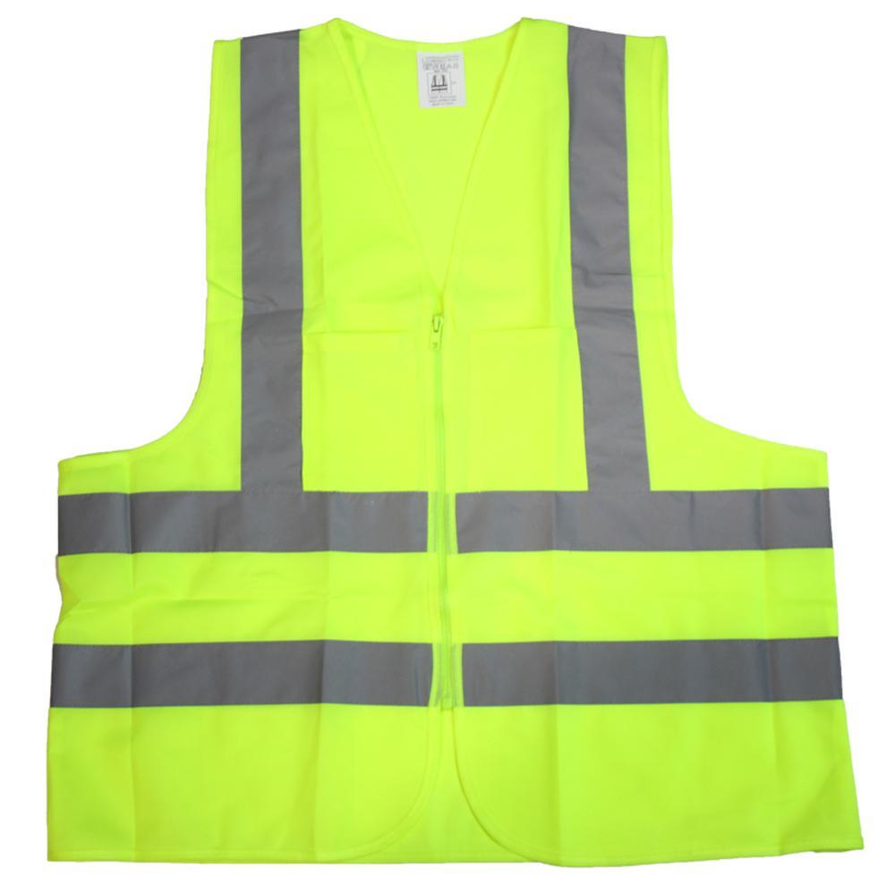 5ecec8372360 Builder s XXL Green Mesh High Visibility Reflective Class 2 Safety Vest (2 -pocket)