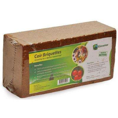 1.5 lbs. Coco Coir Briquette Potting Soil (6-Pack)