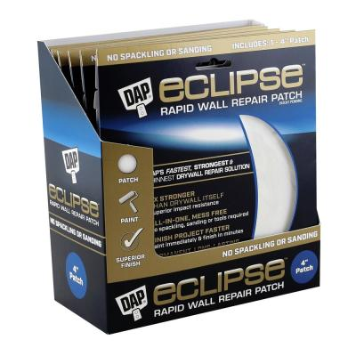Eclipse 4 in. Wall Repair Patch (12-Pack)