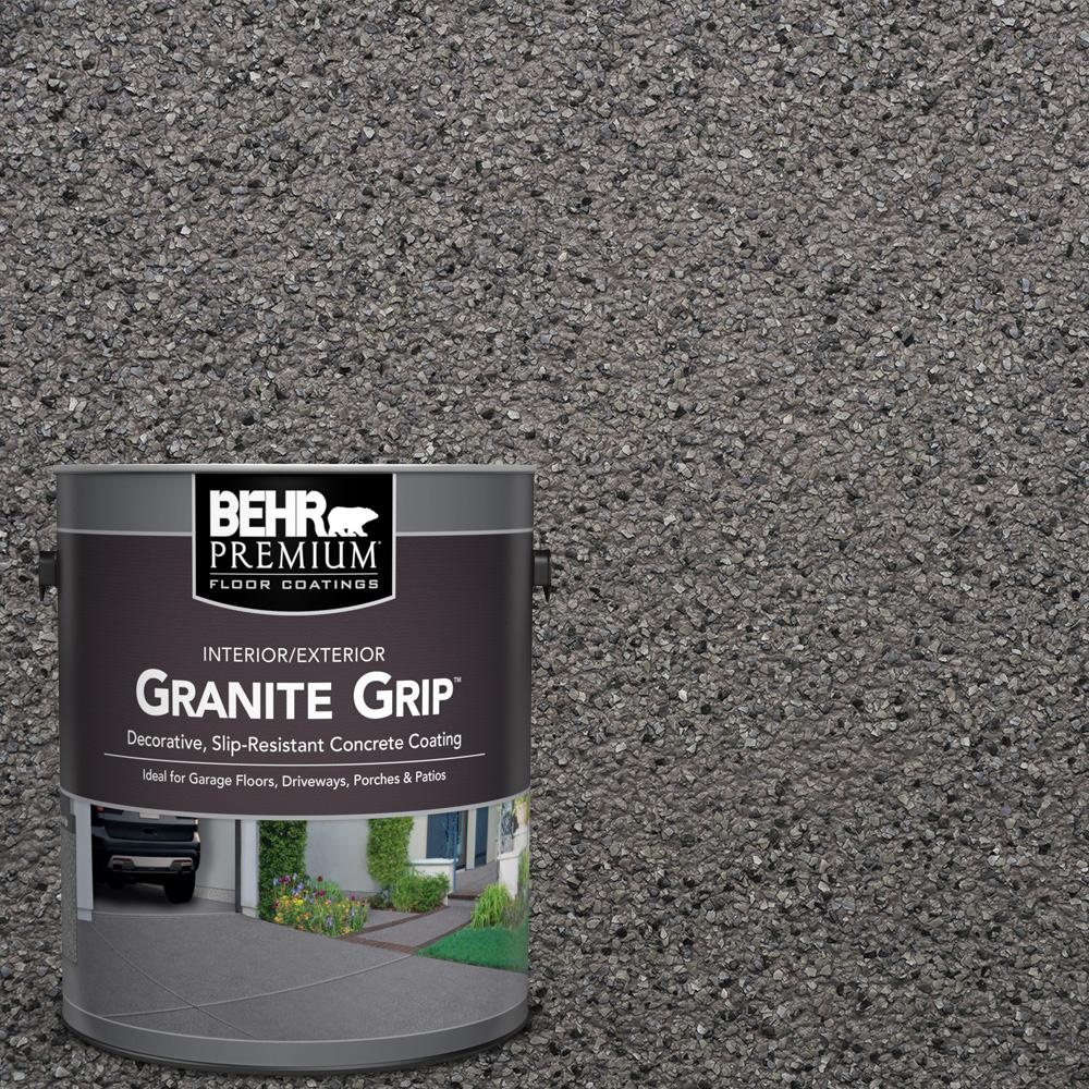 Sure step 1 gal acrylic gray pearl anti slip interior for Household cement