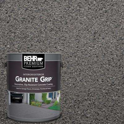 1 gal. #GG-07 Ornamental Gem Decorative Flat Interior/Exterior Concrete Floor Coating