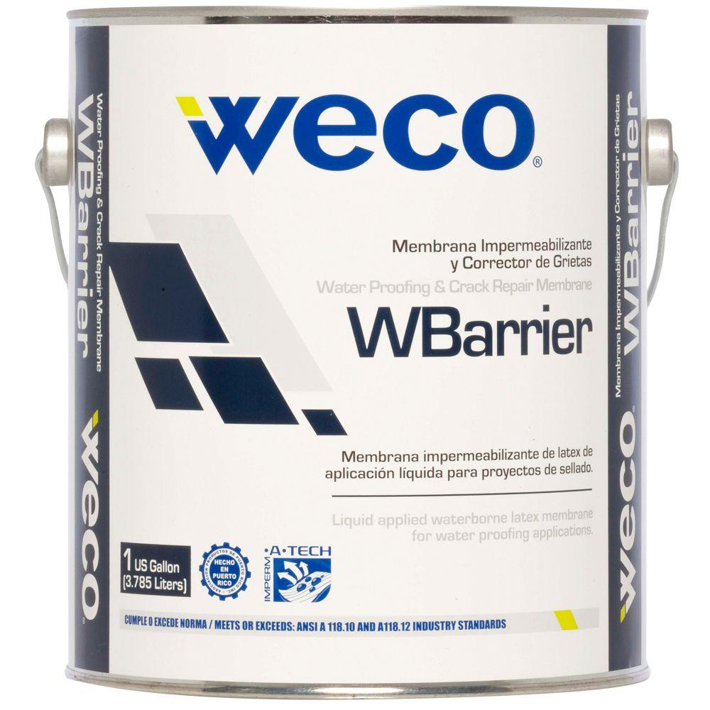 Weco wbarrier 1 gal waterproofing membrane we0780114 the home depot store sku 1001574031 dailygadgetfo Choice Image