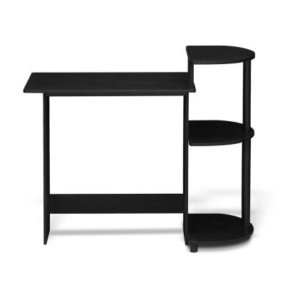 39 in. Rectangular Americano Computer Desk with Shelves