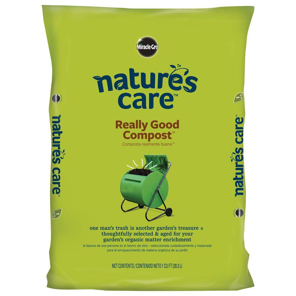 Miracle-Gro Nature's Care 1 cu. ft. Really Good Compost