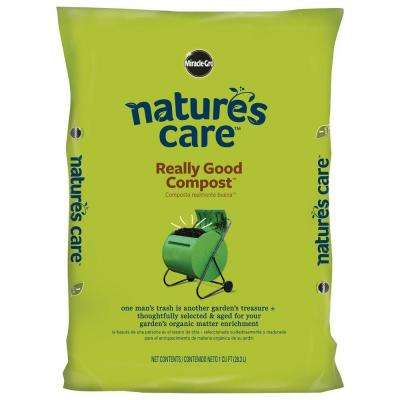 Nature's Care 1 cu. ft. Really Good Compost