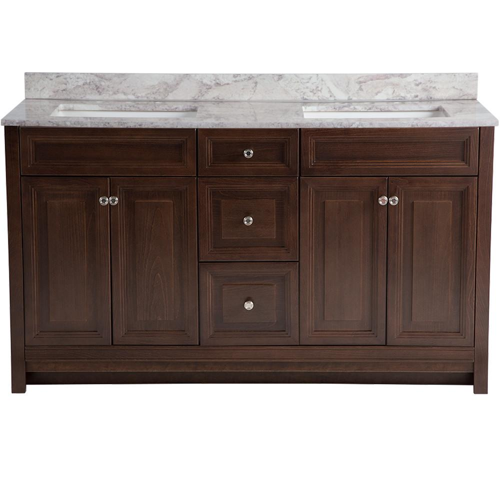 Home decorators collection brinkhill 61 in w x 22 in d vanity in home decorators collection brinkhill 61 in w x 22 in d vanity in cognac teraionfo