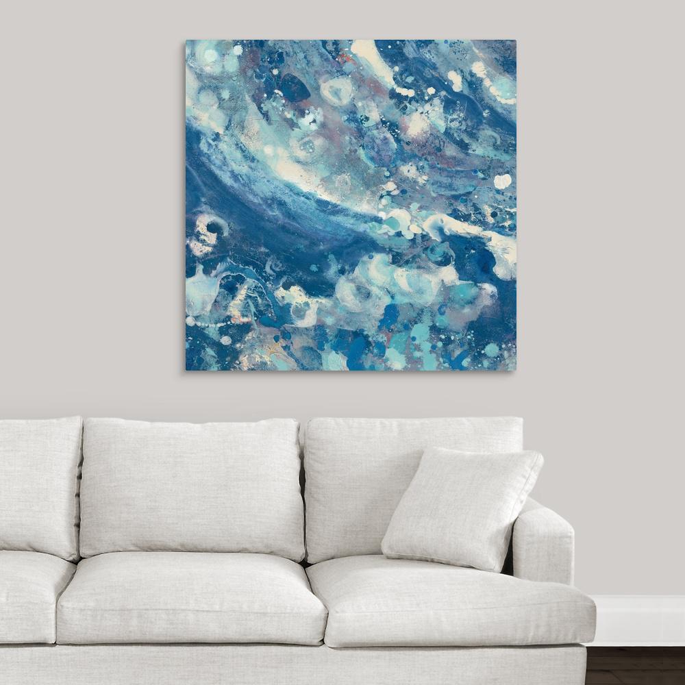 Greatbigcanvas Water Iv By Albena Hristova Canvas Wall Art 2389229 24 36x36 The Home Depot