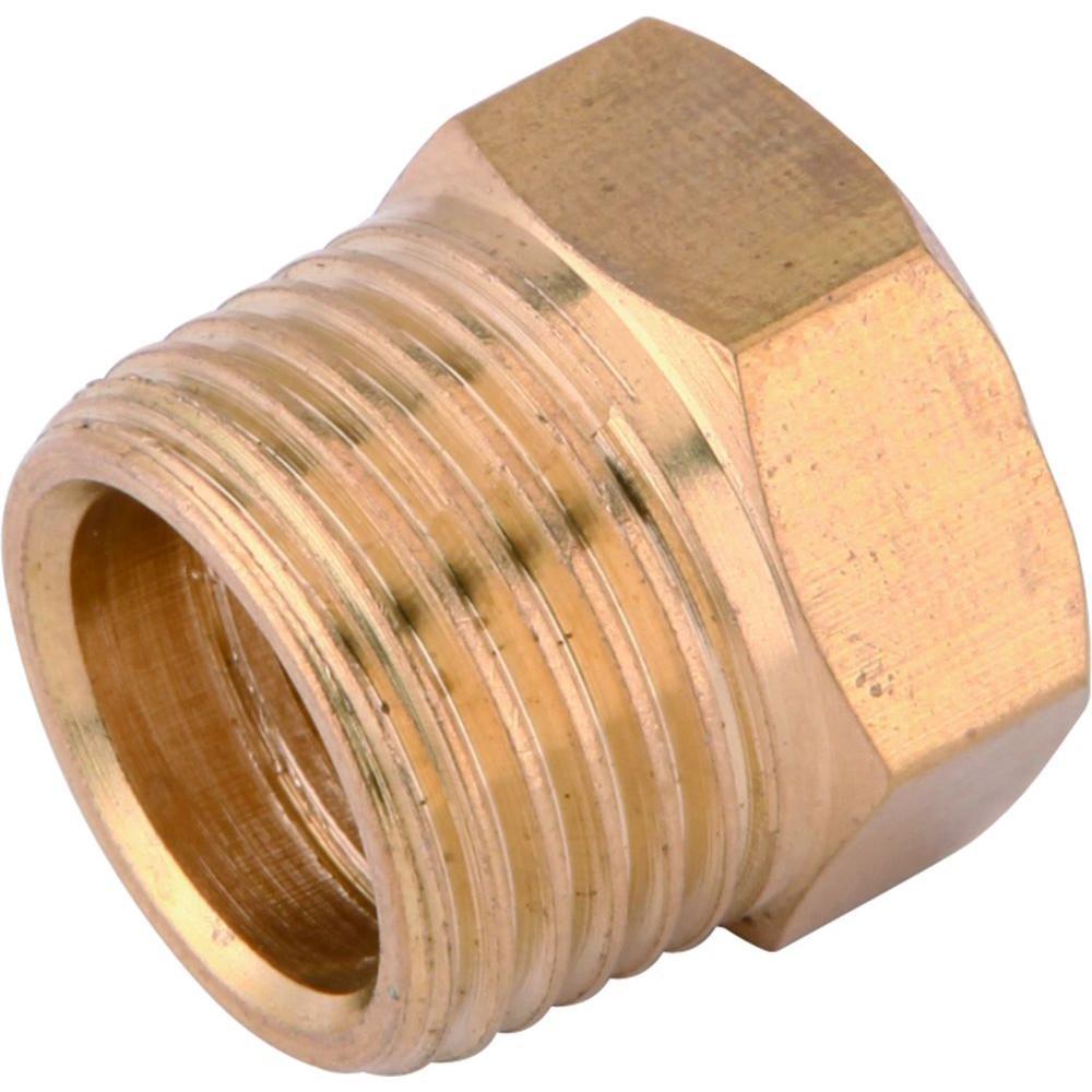 Brass 3/8 in. x 1/4 in. Reducer Plug